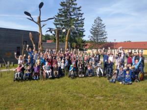 """Week-end des familles d'ELA Allemagne 3 jours """"en brousse"""""""