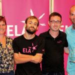Didier Défago, nouveau membre d'honneur d'ELA Suisse