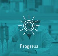 Test progres